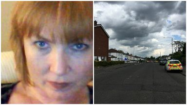 Collage of Alyson Watt, who was killed on Penilee Road, Paisley.