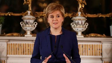 Nicola Sturgeon press conference after election June 2017
