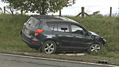 Man dies after crash on A90 near Laurencekirk, Aberdeenshire on June 9 2017