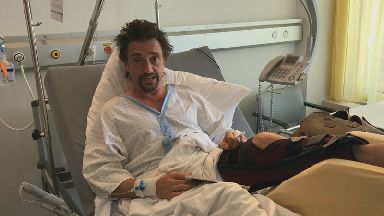 Richard Hammond says sorry to wife after cheating death in crash while filming The Grand Tour