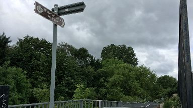 Woman raped on path near water of Leith after walking along Bonnington Road.