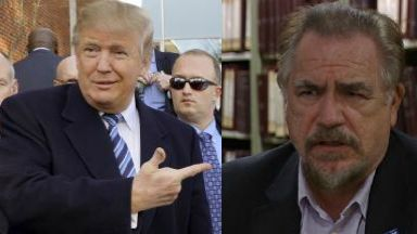 Brian Cox and Donald Trump