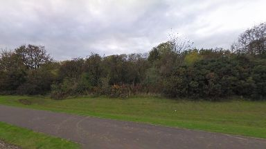 Attack: A boy was shot by two men in Calais Woods, Dunfermline.