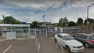 Delays: A woman was hit by a train at South Gyle railway station.