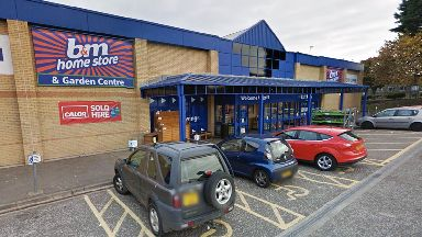 B&M Kingsway East Retail Park in Dundee