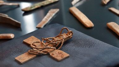 Galloway Viking treasure hoard on display at National Museum of Scotland