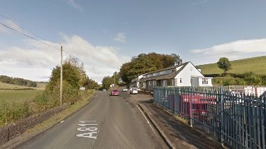 Ballagan: Bus passengers have been injured in the crash.