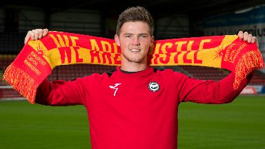 New Partick Thistle signing Blair Spittal uploaded Friday June 16 2017