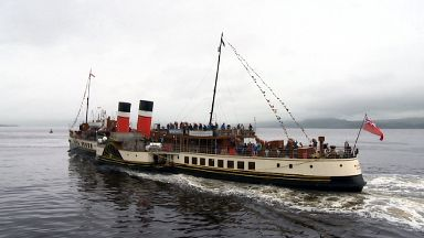 Waverley steamer marks 70 years with cruise to Loch Long