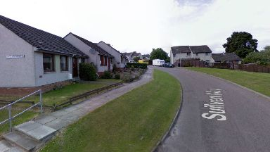 Suliven Way in Inverness.Woman stabbed in house.