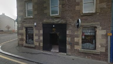 Miss D's: The attack happened outside a bar on South Vennel, Lanark.