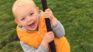 Clinton Pringle, three, from Glasgow, who was knocked down and killed by Rebekah Le Gal in Jersey