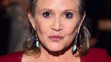 The Star Wars actress died in December last year aged 60.