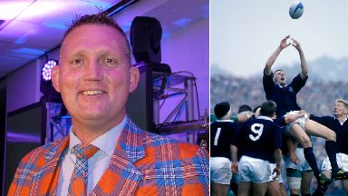Scotland rugby legend George Doddie Weir tackle MND Motor Neuron Disease uploaded Tuesday June 20 2017