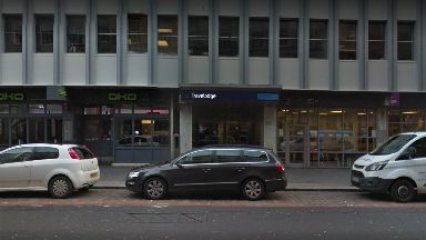 Queen Street: A woman was allegedly raped at the Travelodge in Glasgow.