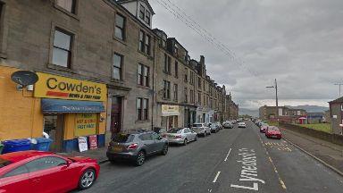 Lynedoch Street: Man died after falling from a flat window in Greenock.