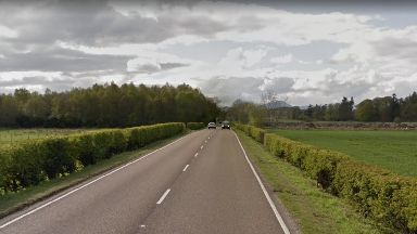 Blair Drummond: A section of the A84 has been closed after the crash.