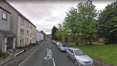 Carwood Street: Incident said to have happened near King's Oak Primary School in Greenock.