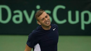 British tennis star Dan Evans played a key role in the victorious 2016 Davis Cup campaign.