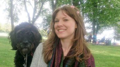 Meghan Ambrozevich-Blair, 26, Edinburgh Napier uni student killed in crash with her dog Milo.