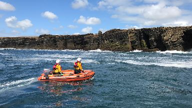 Man dies after falling from cliff in Orkney