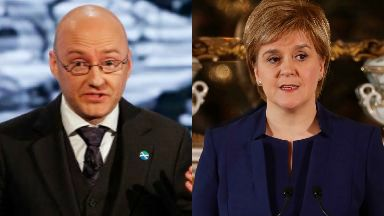 Patrick Harvie and Nicola Sturgeon