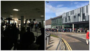 Edinburgh Airport power cut June 28 2017