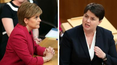 Nicola Sturgeon and Ruth Davidson June 29, 2017