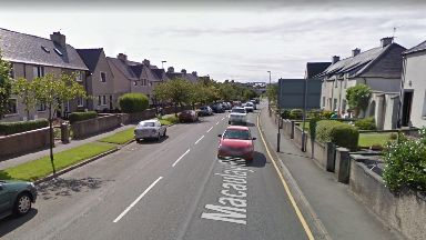Fire: A man died in hospital after the blaze in Stornoway.