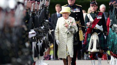Queen edinburgh