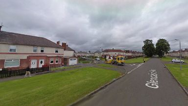 Glencairn Avenue: The death of a man in Wishaw is being treated as suspicious.