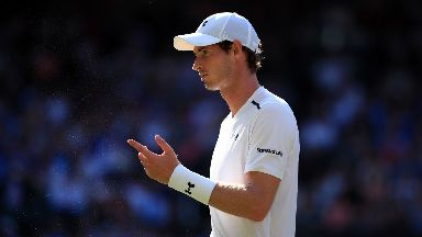 Andy Murray, second round Wimbledon 2017