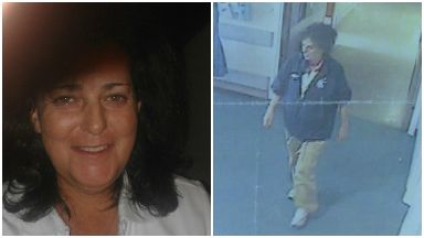 Missing Sandra Coulter. Police pics.
