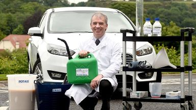 Celtic Renewables and whisky-fuelled car