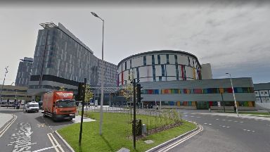Bacteria: Royal Hospital for Children being investigated.