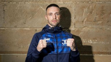 Taylor to let fists do the talking after Davies clashes