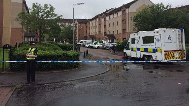 Ballantay Terrace: Murder investigation launched after shooting in Castlemilk, Glasgow.