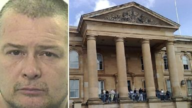 Derek McLaren domestic abuser Dundee Sheriff Court jailed