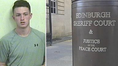 Steven McGovern prisoner who absconded from custody at Edinburgh Sheriff Court after appearing on road traffic charges