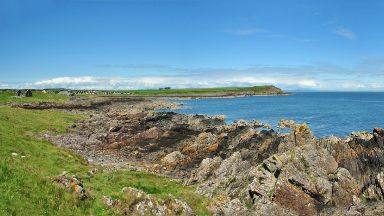 Isle of Whithorn: A man was spotted on a boat just hours before search.
