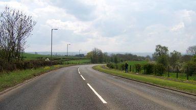 A71 near Stonehouse