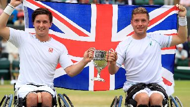 Wimbledon wheelchair finals