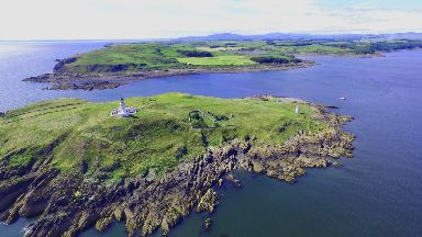 Little Ross Island, off the coast of south west Scotland is up for sale with a price tag of £325K.
