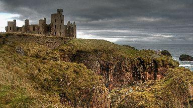 New Slain's Castle near Cruden Bay, Aberdeenshire