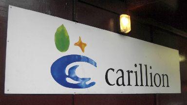 Carillion sign FILE PHOTO