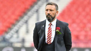 Derek McInnes 2017 Scottish Cup final