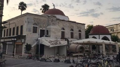 Two dead and more than 120 injured after strong earthquake rocks Turkey and Greek island of Kos