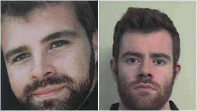 Cameron Logan: The 23-year-old (left) was murdered by his brother Blair (right) in the fire.