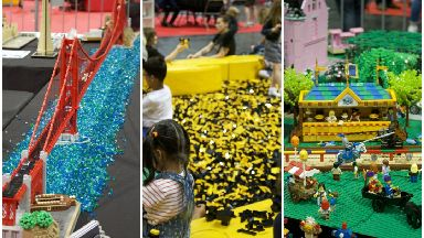 BrickLive arrives at the SEC in Glasgow for the first time to celebrate Lego