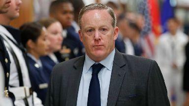 White House Press Secretary Sean Spicer has resigned.